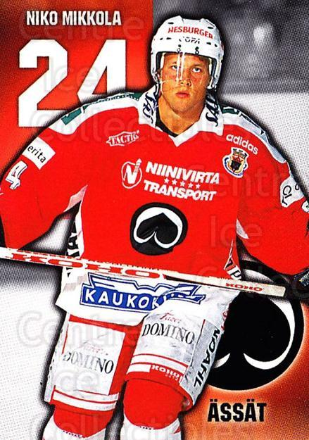 1999-00 Finnish Cardset #153 Niko Mikkola<br/>7 In Stock - $2.00 each - <a href=https://centericecollectibles.foxycart.com/cart?name=1999-00%20Finnish%20Cardset%20%23153%20Niko%20Mikkola...&quantity_max=7&price=$2.00&code=75567 class=foxycart> Buy it now! </a>