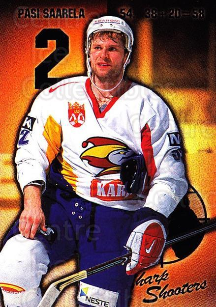 1999-00 Finnish Cardset #159 Pasi Saarela<br/>6 In Stock - $2.00 each - <a href=https://centericecollectibles.foxycart.com/cart?name=1999-00%20Finnish%20Cardset%20%23159%20Pasi%20Saarela...&price=$2.00&code=75573 class=foxycart> Buy it now! </a>