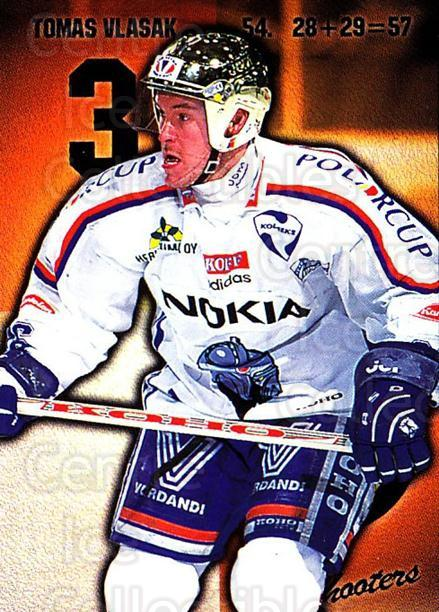 1999-00 Finnish Cardset #160 Tomas Vlasak<br/>2 In Stock - $2.00 each - <a href=https://centericecollectibles.foxycart.com/cart?name=1999-00%20Finnish%20Cardset%20%23160%20Tomas%20Vlasak...&quantity_max=2&price=$2.00&code=75575 class=foxycart> Buy it now! </a>