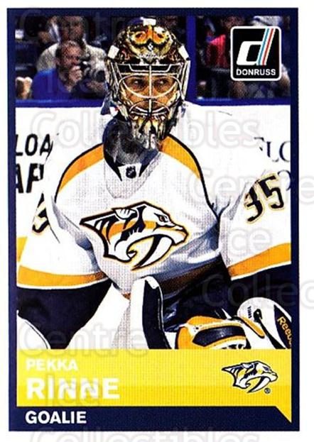 2015-16 Panini Stickers #365 Pekka Rinne<br/>1 In Stock - $2.00 each - <a href=https://centericecollectibles.foxycart.com/cart?name=2015-16%20Panini%20Stickers%20%23365%20Pekka%20Rinne...&quantity_max=1&price=$2.00&code=755788 class=foxycart> Buy it now! </a>