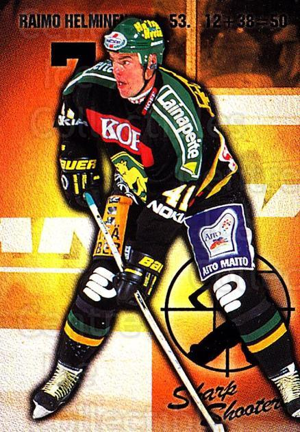 1999-00 Finnish Cardset #164 Raimo Helminen<br/>5 In Stock - $2.00 each - <a href=https://centericecollectibles.foxycart.com/cart?name=1999-00%20Finnish%20Cardset%20%23164%20Raimo%20Helminen...&price=$2.00&code=75578 class=foxycart> Buy it now! </a>
