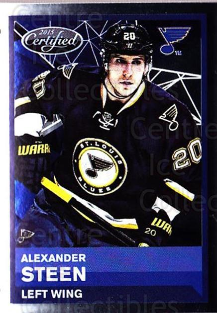 2015-16 Panini Stickers #392 Alexander Steen<br/>1 In Stock - $1.00 each - <a href=https://centericecollectibles.foxycart.com/cart?name=2015-16%20Panini%20Stickers%20%23392%20Alexander%20Steen...&quantity_max=1&price=$1.00&code=755815 class=foxycart> Buy it now! </a>
