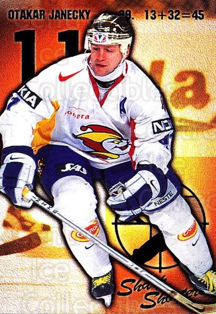1999-00 Finnish Cardset #168 Otakar Janecky<br/>2 In Stock - $2.00 each - <a href=https://centericecollectibles.foxycart.com/cart?name=1999-00%20Finnish%20Cardset%20%23168%20Otakar%20Janecky...&price=$2.00&code=75582 class=foxycart> Buy it now! </a>