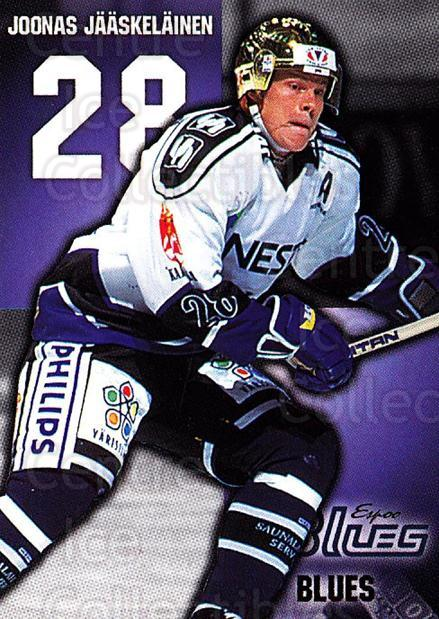 1999-00 Finnish Cardset #17 Joonas Jaaskelainen<br/>7 In Stock - $2.00 each - <a href=https://centericecollectibles.foxycart.com/cart?name=1999-00%20Finnish%20Cardset%20%2317%20Joonas%20Jaaskela...&quantity_max=7&price=$2.00&code=75584 class=foxycart> Buy it now! </a>
