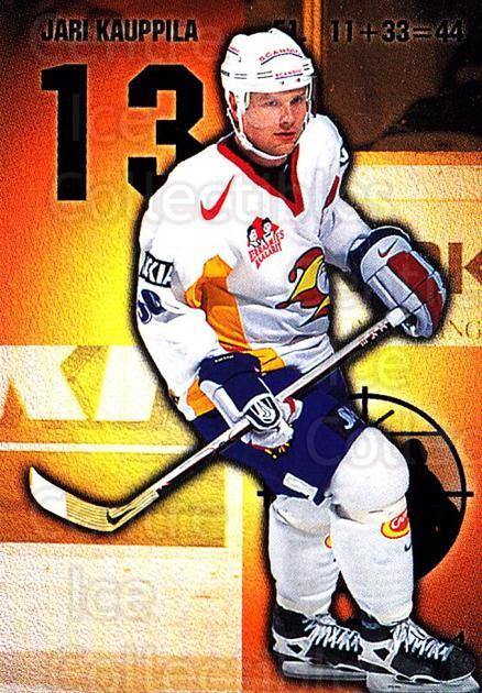 1999-00 Finnish Cardset #170 Jari Kauppila<br/>7 In Stock - $2.00 each - <a href=https://centericecollectibles.foxycart.com/cart?name=1999-00%20Finnish%20Cardset%20%23170%20Jari%20Kauppila...&quantity_max=7&price=$2.00&code=75585 class=foxycart> Buy it now! </a>