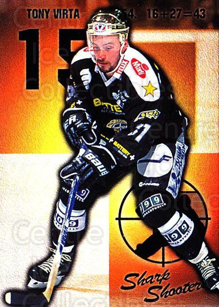 1999-00 Finnish Cardset #172 Tony Virta<br/>5 In Stock - $2.00 each - <a href=https://centericecollectibles.foxycart.com/cart?name=1999-00%20Finnish%20Cardset%20%23172%20Tony%20Virta...&quantity_max=5&price=$2.00&code=75587 class=foxycart> Buy it now! </a>