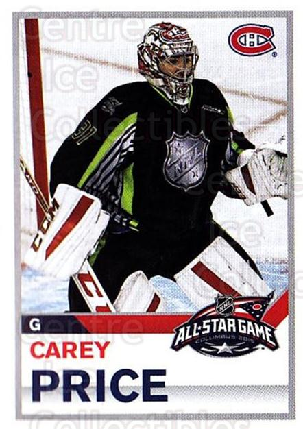 2015-16 Panini Stickers #457 Carey Price<br/>1 In Stock - $5.00 each - <a href=https://centericecollectibles.foxycart.com/cart?name=2015-16%20Panini%20Stickers%20%23457%20Carey%20Price...&quantity_max=1&price=$5.00&code=755880 class=foxycart> Buy it now! </a>