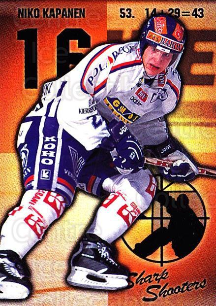 1999-00 Finnish Cardset #173 Niko Kapanen<br/>4 In Stock - $2.00 each - <a href=https://centericecollectibles.foxycart.com/cart?name=1999-00%20Finnish%20Cardset%20%23173%20Niko%20Kapanen...&quantity_max=4&price=$2.00&code=75588 class=foxycart> Buy it now! </a>