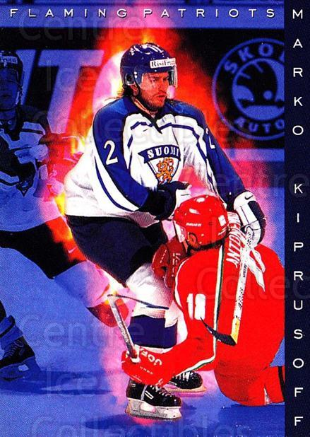 1999-00 Finnish Cardset #183 Marko Kiprusoff<br/>7 In Stock - $2.00 each - <a href=https://centericecollectibles.foxycart.com/cart?name=1999-00%20Finnish%20Cardset%20%23183%20Marko%20Kiprusoff...&quantity_max=7&price=$2.00&code=75596 class=foxycart> Buy it now! </a>