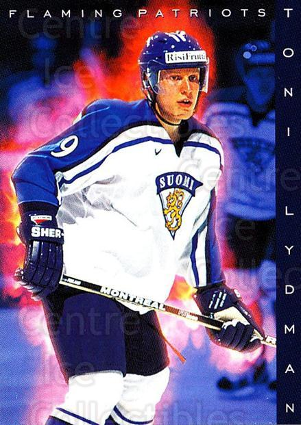 1999-00 Finnish Cardset #184 Toni Lydman<br/>7 In Stock - $2.00 each - <a href=https://centericecollectibles.foxycart.com/cart?name=1999-00%20Finnish%20Cardset%20%23184%20Toni%20Lydman...&quantity_max=7&price=$2.00&code=75597 class=foxycart> Buy it now! </a>