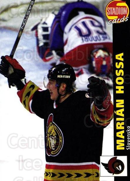 2000-01 Czech Stadion #123 Marian Hossa<br/>1 In Stock - $3.00 each - <a href=https://centericecollectibles.foxycart.com/cart?name=2000-01%20Czech%20Stadion%20%23123%20Marian%20Hossa...&quantity_max=1&price=$3.00&code=755980 class=foxycart> Buy it now! </a>