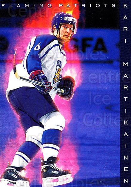 1999-00 Finnish Cardset #185 Kari Martikainen<br/>7 In Stock - $2.00 each - <a href=https://centericecollectibles.foxycart.com/cart?name=1999-00%20Finnish%20Cardset%20%23185%20Kari%20Martikaine...&quantity_max=7&price=$2.00&code=75598 class=foxycart> Buy it now! </a>