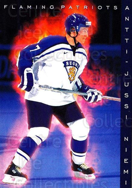 1999-00 Finnish Cardset #186 Antti-Jussi Niemi<br/>7 In Stock - $2.00 each - <a href=https://centericecollectibles.foxycart.com/cart?name=1999-00%20Finnish%20Cardset%20%23186%20Antti-Jussi%20Nie...&quantity_max=7&price=$2.00&code=75599 class=foxycart> Buy it now! </a>