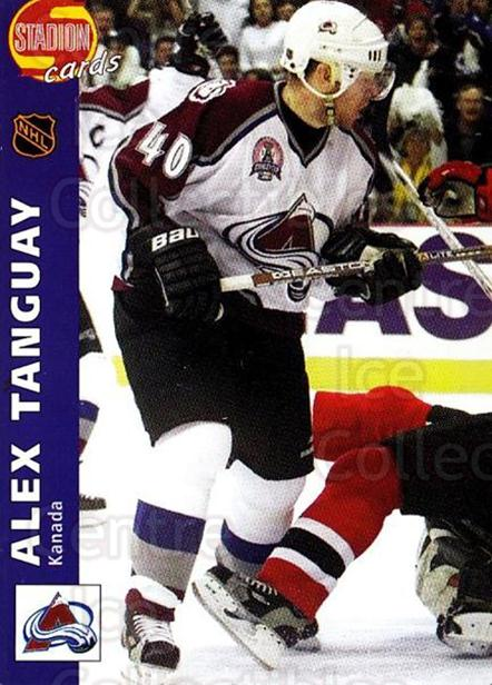 2000-01 Czech Stadion #225 Alex Tanguay<br/>1 In Stock - $3.00 each - <a href=https://centericecollectibles.foxycart.com/cart?name=2000-01%20Czech%20Stadion%20%23225%20Alex%20Tanguay...&quantity_max=1&price=$3.00&code=756002 class=foxycart> Buy it now! </a>