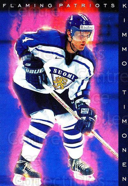 1999-00 Finnish Cardset #188 Kimmo Timonen<br/>6 In Stock - $2.00 each - <a href=https://centericecollectibles.foxycart.com/cart?name=1999-00%20Finnish%20Cardset%20%23188%20Kimmo%20Timonen...&quantity_max=6&price=$2.00&code=75601 class=foxycart> Buy it now! </a>