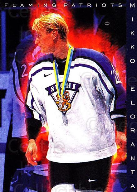 1999-00 Finnish Cardset #189 Mikko Eloranta<br/>6 In Stock - $2.00 each - <a href=https://centericecollectibles.foxycart.com/cart?name=1999-00%20Finnish%20Cardset%20%23189%20Mikko%20Eloranta...&quantity_max=6&price=$2.00&code=75602 class=foxycart> Buy it now! </a>