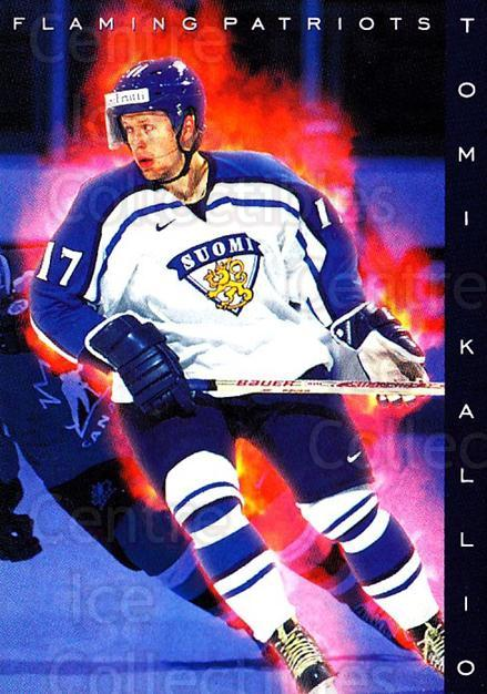 1999-00 Finnish Cardset #192 Tomi Kallio<br/>6 In Stock - $2.00 each - <a href=https://centericecollectibles.foxycart.com/cart?name=1999-00%20Finnish%20Cardset%20%23192%20Tomi%20Kallio...&quantity_max=6&price=$2.00&code=75606 class=foxycart> Buy it now! </a>