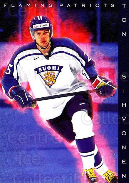 1999-00 Finnish Cardset #198 Toni Sihvonen<br/>7 In Stock - $2.00 each - <a href=https://centericecollectibles.foxycart.com/cart?name=1999-00%20Finnish%20Cardset%20%23198%20Toni%20Sihvonen...&quantity_max=7&price=$2.00&code=75609 class=foxycart> Buy it now! </a>