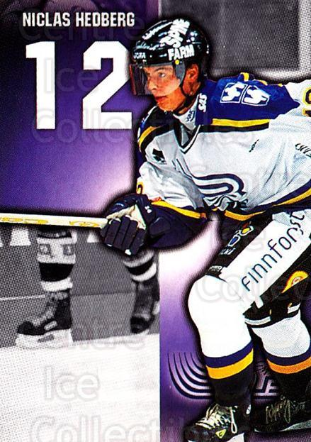 1999-00 Finnish Cardset #207 Niclas Hedberg<br/>10 In Stock - $2.00 each - <a href=https://centericecollectibles.foxycart.com/cart?name=1999-00%20Finnish%20Cardset%20%23207%20Niclas%20Hedberg...&quantity_max=10&price=$2.00&code=75620 class=foxycart> Buy it now! </a>