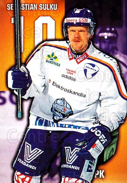 1999-00 Finnish Cardset #236 Sebastien Sulku<br/>12 In Stock - $2.00 each - <a href=https://centericecollectibles.foxycart.com/cart?name=1999-00%20Finnish%20Cardset%20%23236%20Sebastien%20Sulku...&quantity_max=12&price=$2.00&code=75650 class=foxycart> Buy it now! </a>