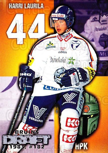 1999-00 Finnish Cardset #237 Harri Laurila<br/>10 In Stock - $2.00 each - <a href=https://centericecollectibles.foxycart.com/cart?name=1999-00%20Finnish%20Cardset%20%23237%20Harri%20Laurila...&quantity_max=10&price=$2.00&code=75651 class=foxycart> Buy it now! </a>