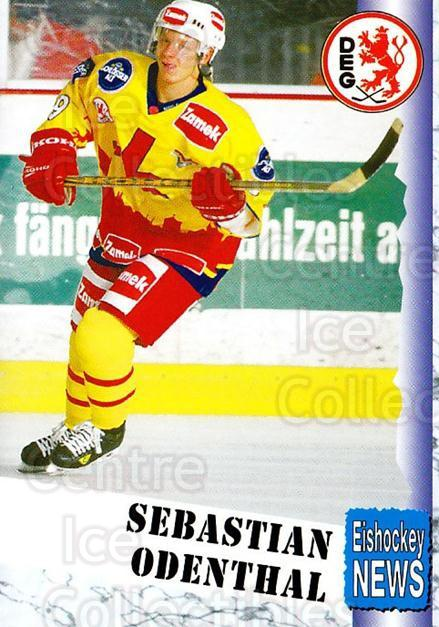 1999-00 German Bundesliga 2 #101 Sebastien Odenthal<br/>13 In Stock - $2.00 each - <a href=https://centericecollectibles.foxycart.com/cart?name=1999-00%20German%20Bundesliga%202%20%23101%20Sebastien%20Odent...&quantity_max=13&price=$2.00&code=75687 class=foxycart> Buy it now! </a>