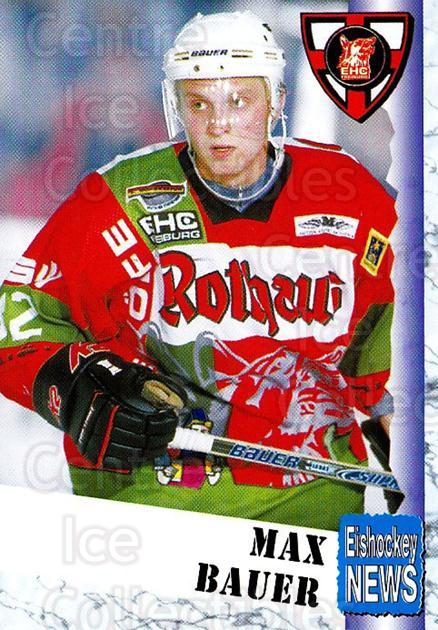 1999-00 German Bundesliga 2 #119 Max Bauer<br/>11 In Stock - $2.00 each - <a href=https://centericecollectibles.foxycart.com/cart?name=1999-00%20German%20Bundesliga%202%20%23119%20Max%20Bauer...&quantity_max=11&price=$2.00&code=75703 class=foxycart> Buy it now! </a>