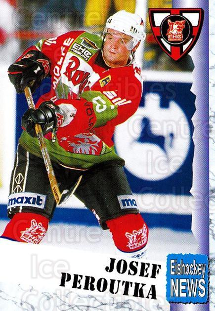 1999-00 German Bundesliga 2 #121 Joseph Peroutka<br/>10 In Stock - $2.00 each - <a href=https://centericecollectibles.foxycart.com/cart?name=1999-00%20German%20Bundesliga%202%20%23121%20Joseph%20Peroutka...&quantity_max=10&price=$2.00&code=75705 class=foxycart> Buy it now! </a>
