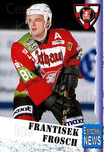 1999-00 German Bundesliga 2 #125 Frantisek Frosch<br/>10 In Stock - $2.00 each - <a href=https://centericecollectibles.foxycart.com/cart?name=1999-00%20German%20Bundesliga%202%20%23125%20Frantisek%20Frosc...&quantity_max=10&price=$2.00&code=75709 class=foxycart> Buy it now! </a>