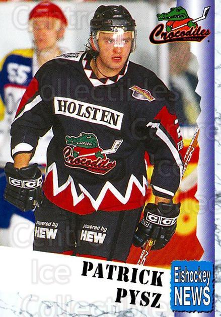 1999-00 German Bundesliga 2 #154 Patrick Pysz<br/>12 In Stock - $2.00 each - <a href=https://centericecollectibles.foxycart.com/cart?name=1999-00%20German%20Bundesliga%202%20%23154%20Patrick%20Pysz...&quantity_max=12&price=$2.00&code=75740 class=foxycart> Buy it now! </a>