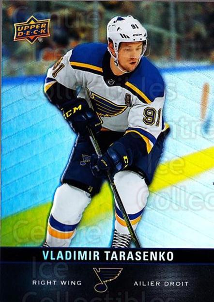 2019-20 Tim Hortons #114 Vladimir Tarasenko<br/>8 In Stock - $1.00 each - <a href=https://centericecollectibles.foxycart.com/cart?name=2019-20%20Tim%20Hortons%20%23114%20Vladimir%20Tarase...&quantity_max=8&price=$1.00&code=757510 class=foxycart> Buy it now! </a>