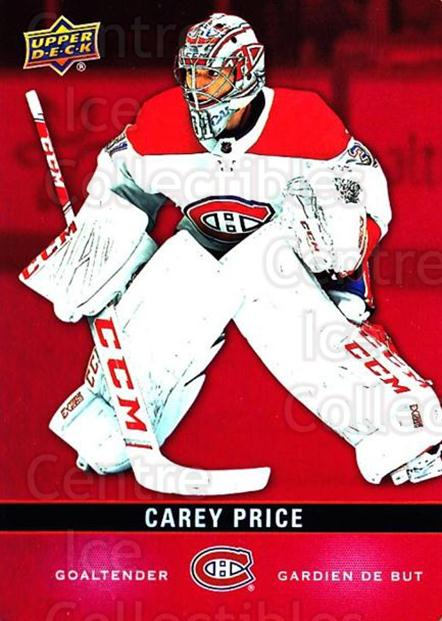 2019-20 Tim Hortons Red Die Cuts #14 Carey Price<br/>4 In Stock - $5.00 each - <a href=https://centericecollectibles.foxycart.com/cart?name=2019-20%20Tim%20Hortons%20Red%20Die%20Cuts%20%2314%20Carey%20Price...&quantity_max=4&price=$5.00&code=757530 class=foxycart> Buy it now! </a>