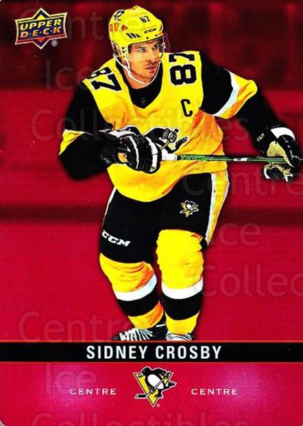 2019-20 Tim Hortons Red Die Cuts #27 Sidney Crosby<br/>6 In Stock - $5.00 each - <a href=https://centericecollectibles.foxycart.com/cart?name=2019-20%20Tim%20Hortons%20Red%20Die%20Cuts%20%2327%20Sidney%20Crosby...&quantity_max=6&price=$5.00&code=757543 class=foxycart> Buy it now! </a>