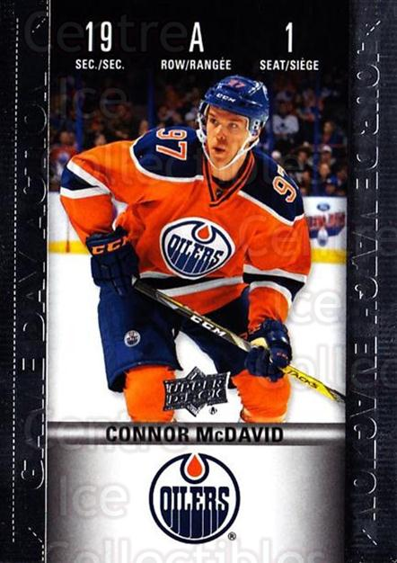 2019-20 Tim Hortons Game Day Action #1 Connor McDavid<br/>7 In Stock - $5.00 each - <a href=https://centericecollectibles.foxycart.com/cart?name=2019-20%20Tim%20Hortons%20Game%20Day%20Action%20%231%20Connor%20McDavid...&quantity_max=7&price=$5.00&code=757590 class=foxycart> Buy it now! </a>