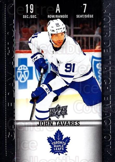 2019-20 Tim Hortons Game Day Action #7 John Tavares<br/>5 In Stock - $3.00 each - <a href=https://centericecollectibles.foxycart.com/cart?name=2019-20%20Tim%20Hortons%20Game%20Day%20Action%20%237%20John%20Tavares...&quantity_max=5&price=$3.00&code=757596 class=foxycart> Buy it now! </a>