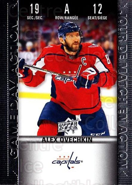 2019-20 Tim Hortons Game Day Action #12 Alexander Ovechkin<br/>8 In Stock - $3.00 each - <a href=https://centericecollectibles.foxycart.com/cart?name=2019-20%20Tim%20Hortons%20Game%20Day%20Action%20%2312%20Alexander%20Ovech...&quantity_max=8&price=$3.00&code=757601 class=foxycart> Buy it now! </a>