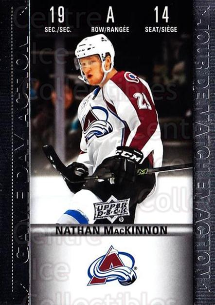 2019-20 Tim Hortons Game Day Action #14 Nathan MacKinnon<br/>6 In Stock - $3.00 each - <a href=https://centericecollectibles.foxycart.com/cart?name=2019-20%20Tim%20Hortons%20Game%20Day%20Action%20%2314%20Nathan%20MacKinno...&quantity_max=6&price=$3.00&code=757603 class=foxycart> Buy it now! </a>
