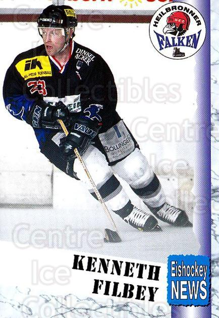 1999-00 German Bundesliga 2 #173 Kenneth Filbey<br/>13 In Stock - $2.00 each - <a href=https://centericecollectibles.foxycart.com/cart?name=1999-00%20German%20Bundesliga%202%20%23173%20Kenneth%20Filbey...&price=$2.00&code=75761 class=foxycart> Buy it now! </a>