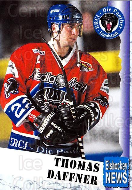 1999-00 German Bundesliga 2 #196 Thomas Daffner<br/>12 In Stock - $2.00 each - <a href=https://centericecollectibles.foxycart.com/cart?name=1999-00%20German%20Bundesliga%202%20%23196%20Thomas%20Daffner...&quantity_max=12&price=$2.00&code=75785 class=foxycart> Buy it now! </a>
