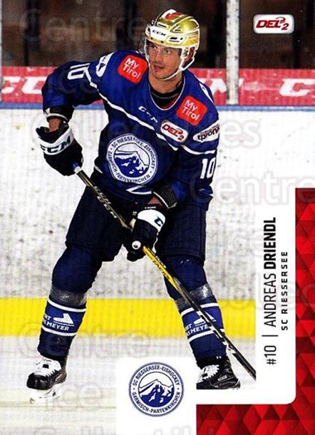 2017-18 German DEL2 #257 Andreas Driendl<br/>4 In Stock - $2.00 each - <a href=https://centericecollectibles.foxycart.com/cart?name=2017-18%20German%20DEL2%20%23257%20Andreas%20Driendl...&quantity_max=4&price=$2.00&code=757868 class=foxycart> Buy it now! </a>