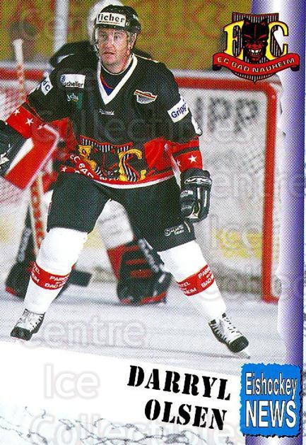 1999-00 German Bundesliga 2 #2 Darryl Olsen<br/>10 In Stock - $2.00 each - <a href=https://centericecollectibles.foxycart.com/cart?name=1999-00%20German%20Bundesliga%202%20%232%20Darryl%20Olsen...&quantity_max=10&price=$2.00&code=75789 class=foxycart> Buy it now! </a>