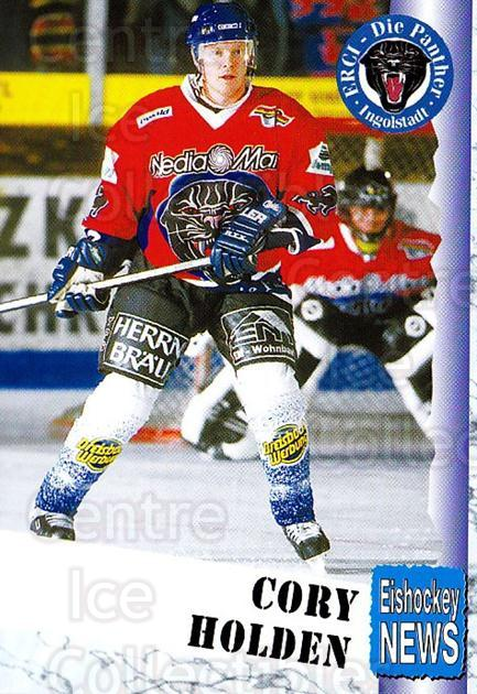 1999-00 German Bundesliga 2 #200 Cory Holden<br/>12 In Stock - $2.00 each - <a href=https://centericecollectibles.foxycart.com/cart?name=1999-00%20German%20Bundesliga%202%20%23200%20Cory%20Holden...&quantity_max=12&price=$2.00&code=75791 class=foxycart> Buy it now! </a>