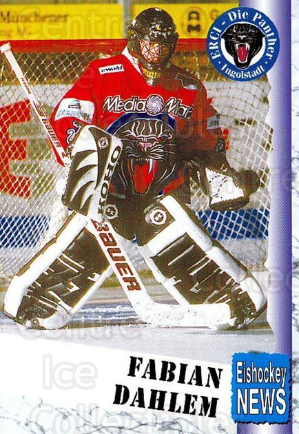 1999-00 German Bundesliga 2 #203 Fabian Dahlem<br/>7 In Stock - $2.00 each - <a href=https://centericecollectibles.foxycart.com/cart?name=1999-00%20German%20Bundesliga%202%20%23203%20Fabian%20Dahlem...&quantity_max=7&price=$2.00&code=75794 class=foxycart> Buy it now! </a>
