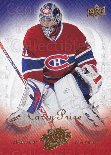 2008-09 Montreal Upper Deck NHL AS Game #3 Carey Price<br/>1 In Stock - $10.00 each - <a href=https://centericecollectibles.foxycart.com/cart?name=2008-09%20Montreal%20Upper%20Deck%20NHL%20AS%20Game%20%233%20Carey%20Price...&quantity_max=1&price=$10.00&code=757979 class=foxycart> Buy it now! </a>