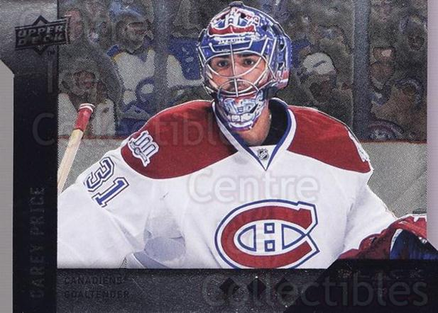 2009-10 Black Diamond Horizontal Perimeter Die-Cut #3 Carey Price<br/>1 In Stock - $10.00 each - <a href=https://centericecollectibles.foxycart.com/cart?name=2009-10%20Black%20Diamond%20Horizontal%20Perimeter%20Die-Cut%20%233%20Carey%20Price...&quantity_max=1&price=$10.00&code=758039 class=foxycart> Buy it now! </a>