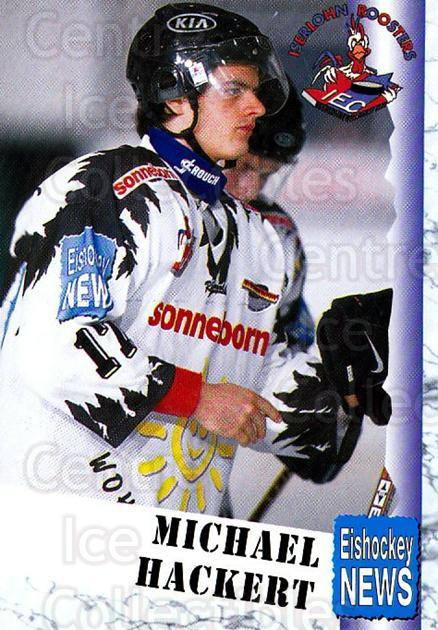 1999-00 German Bundesliga 2 #216 Michael Hackert<br/>12 In Stock - $2.00 each - <a href=https://centericecollectibles.foxycart.com/cart?name=1999-00%20German%20Bundesliga%202%20%23216%20Michael%20Hackert...&quantity_max=12&price=$2.00&code=75807 class=foxycart> Buy it now! </a>