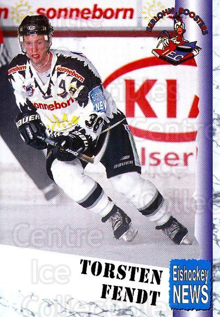 1999-00 German Bundesliga 2 #221 Torsten Fendt<br/>11 In Stock - $2.00 each - <a href=https://centericecollectibles.foxycart.com/cart?name=1999-00%20German%20Bundesliga%202%20%23221%20Torsten%20Fendt...&quantity_max=11&price=$2.00&code=75812 class=foxycart> Buy it now! </a>
