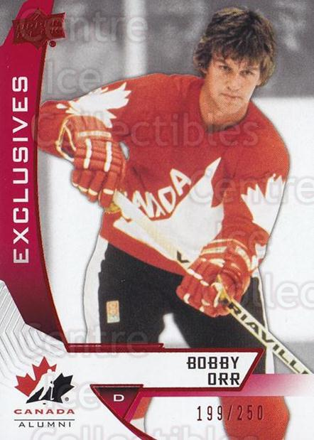 2019-20 Upper Deck Team Canada Exclusives #92 Bobby Orr<br/>1 In Stock - $15.00 each - <a href=https://centericecollectibles.foxycart.com/cart?name=2019-20%20Upper%20Deck%20Team%20Canada%20Exclusives%20%2392%20Bobby%20Orr...&quantity_max=1&price=$15.00&code=758246 class=foxycart> Buy it now! </a>