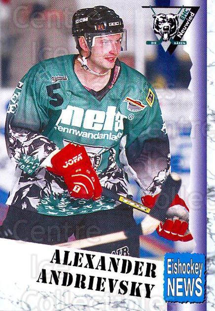 1999-00 German Bundesliga 2 #233 Alexander Andrijevski<br/>7 In Stock - $2.00 each - <a href=https://centericecollectibles.foxycart.com/cart?name=1999-00%20German%20Bundesliga%202%20%23233%20Alexander%20Andri...&quantity_max=7&price=$2.00&code=75824 class=foxycart> Buy it now! </a>