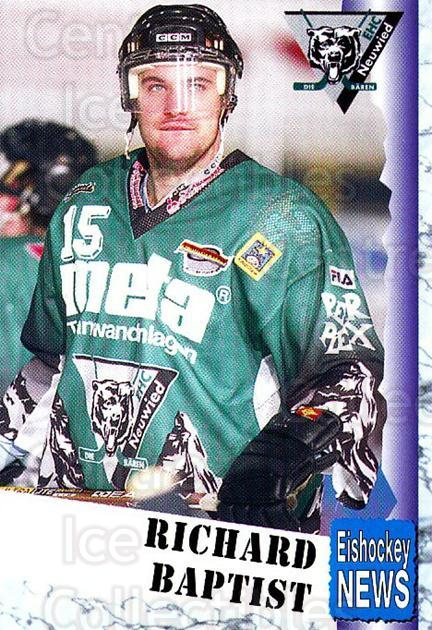 1999-00 German Bundesliga 2 #235 Richard Baptist<br/>12 In Stock - $2.00 each - <a href=https://centericecollectibles.foxycart.com/cart?name=1999-00%20German%20Bundesliga%202%20%23235%20Richard%20Baptist...&quantity_max=12&price=$2.00&code=75826 class=foxycart> Buy it now! </a>